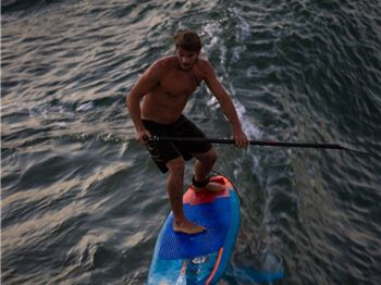 Linking not two, but six waves while SUP foiling! - Stand Up Paddle News