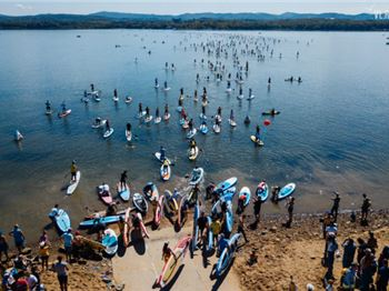 844 Stand Up Paddlers On The Water at Once - New Record! - Stand Up Paddle News