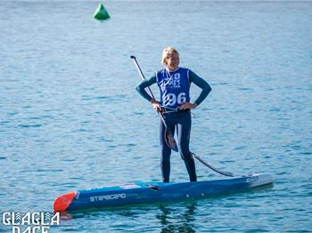 Sonni Hoennscheid Wins 2019 Glagla Race at Lake Annecy - Stand Up Paddle News